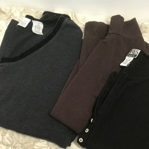 Lot of 3 Long Sleeve T-Shirts 🔅2 are NWOT🔅